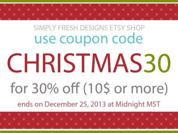 2013 CHRISTMAS COUPON