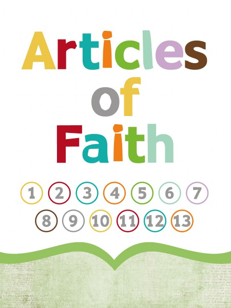 graphic about 13 Articles of Faith Printable identify Enhance: 3x4 Articles or blog posts of Religion Playing cards - Easily Clean Layouts