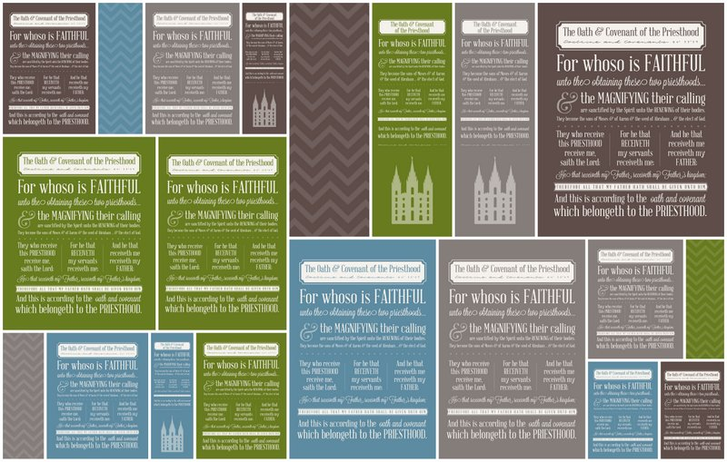 photograph about Oath and Covenant of the Priesthood Printable named LDS Oath and Covenant of the Priesthood - Easily Contemporary Patterns