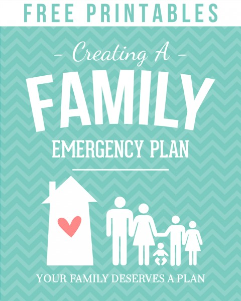 create a family emergency plan simply fresh designs