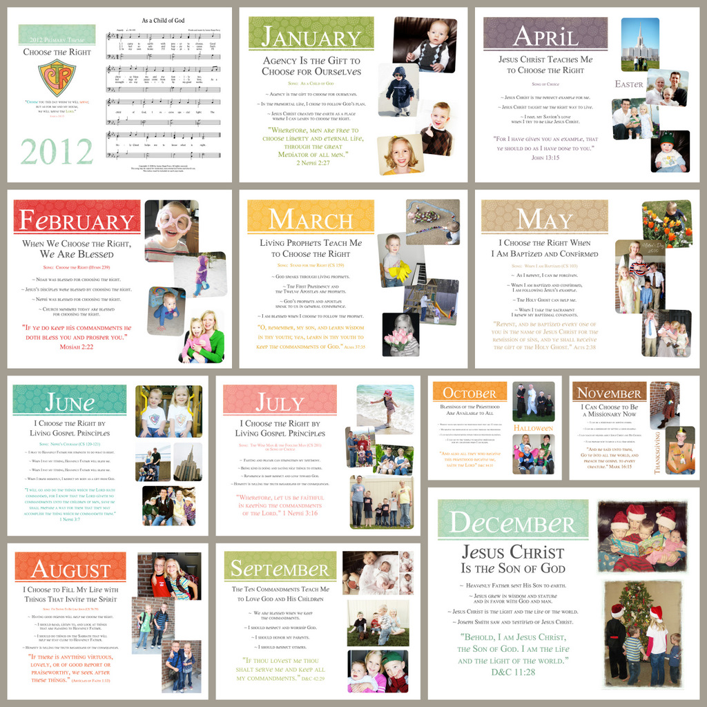 Family Calendars : Family calendar simply fresh designs